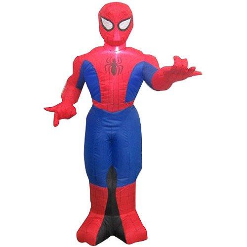 Gemmy Airblown Marvel Spiderman Halloween Birthday Inflatable 3.5' Tall Rare front-832408