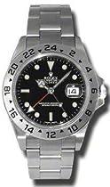 Rolex Oyster Perpetual Explorer II Steel Mens Watch 16570