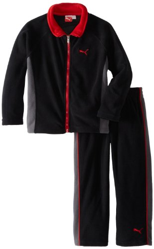 Puma - Kids Boys 2-7 Pop Polar Fleece Set