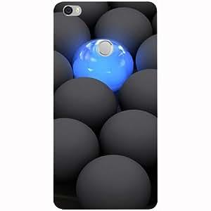 Casotec Balls Dark Neon Sight Surface Design 3D Printed Hard Back Case Cover for Xiaomi Mi Max