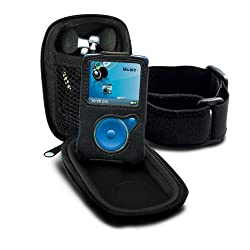 Sansa 3 in 1 Fuze Kit (Armband, Travel Case, & Leather-Grained Protective Glove)