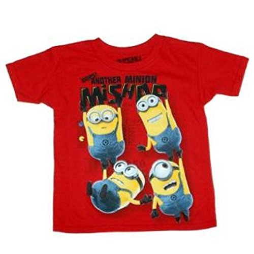 Despicable Me Oops! Another Minion Mishap T-Shirt, Size S (6-7)