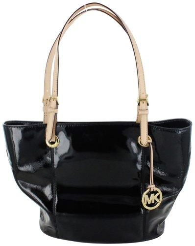 Michael Kors Jet Set 38F2Cttt7A Women'S Tote Handbag Black