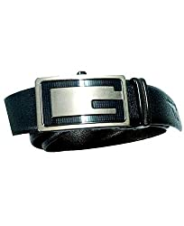 Longhorns Men's Belt (FO_1300_B_Black Brown_42)