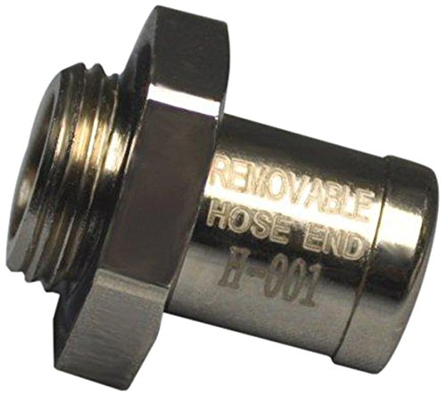 Ez (H-001) Silver Small Hose End