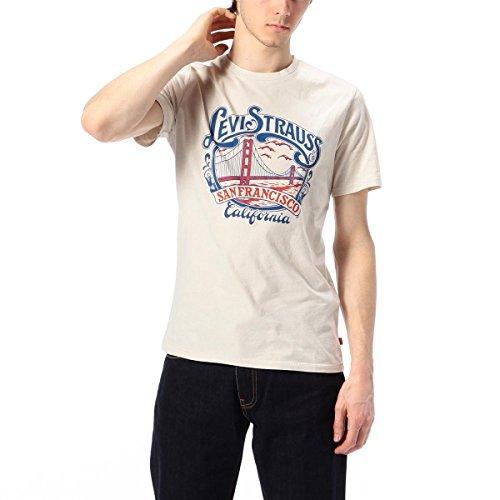 リーバイス(R)(Levi s(R)) グラフィックセットインネックTシャツ【ホワイト/M (JAPAN SIZE L)】