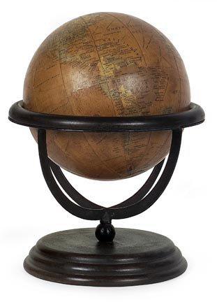 IMAX Large Wooden Globe