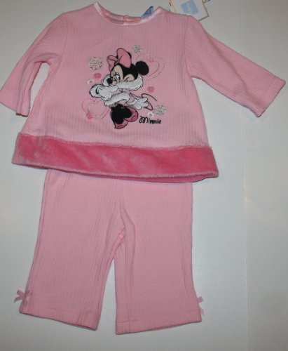 Disney Minnie Mouse Infant/Baby Girl's 2 Piece Set - Size: 0-3 Months Pink