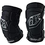 Troy Lee Designs T-Bone Guards - X-Large/2X-Large/Black