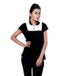 Tryfa Women's Top (Tryfa-51-S_Black_Small)