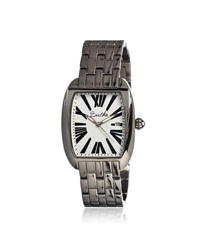 Bertha Women's BTHBR1301 Anastasia Silver/White Steel Watch