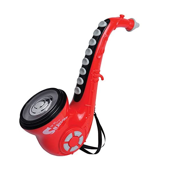 CP Toys Electronic Saxophone with Colorful Flashing Lights