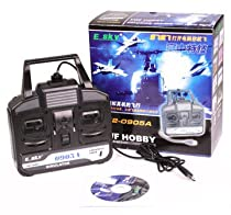 E-sky 4 Ch Flight Simulator Training Kit for Airplanes and Helicopters w/ USB Port