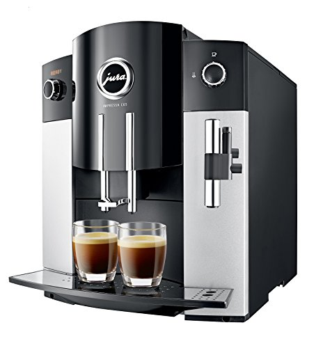 Jura IMPRESSA C65 Automatic Coffee Machine, Platinum