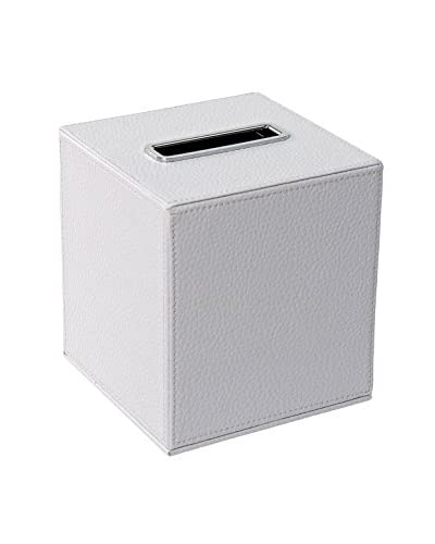 Nameek's Ailanto Colour Tissue Box, White