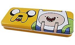 Adventure Time Finn and Jake Dual Level Metal Pencil Box