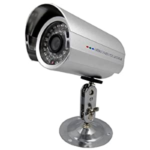 (1) Indoor/Outdoor 36LED Infrared Full Color Security CCTV Bullet Camera Powered by SONY 1/3
