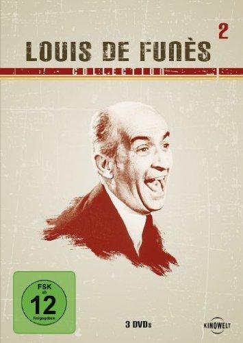Louis de Funès Collection 2 (Die Abenteuer des Rabbi Jacob / Louis, das Schlitzohr / Louis, der Geizkragen) [3 DVDs]