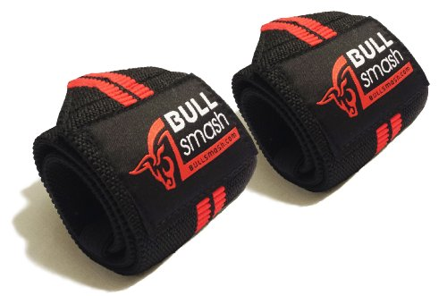 Best Wrist Wraps for Extreme Weight Lifting, Crossfit, Strength Training, Bodybuilding, Powerlifting. The Best Support Straps, Tough and Durable for Heavy Workout. Fully Adjustable Length with Quality Velcro and Thumb Loop. Lifetime Money Back Guarantee