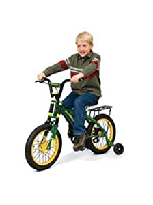 Buy NEW Green and Yellow John Deere Graphics 16 Heavy-duty Bicycle with Frame by Generic