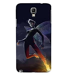ColourCraft The Dark Angel Design Back Case Cover for SAMSUNG GALAXY NOTE 3 NEO DUOS N7502