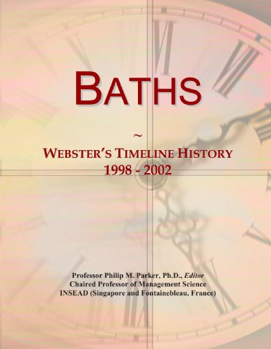 Baths: Webster's Timeline History, 1998 - 2002