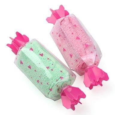 Candy Shaped Mini Towel (Random Color)