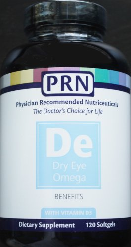 Physician Recommended Nutriceuticals PRN Omega Benefits Fish Oil 120 Softgels (Dry Eye Advantage compare prices)