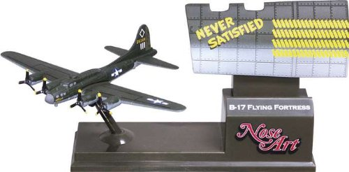 Corgi B17 Never Satisfied - Nose Art Model Airplane