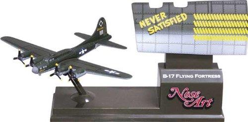 Corgi B17 Never Satisfied - Nose Art Model Airplane