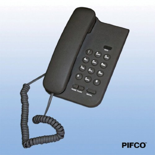 Electrolite Compact Corded Telephone Wall Mountable - Black Reviews