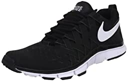 Nike Men\'s NIKE FREE TRAINER 5.0 TRAINING SHOES 13 Men US (BLACK/WHITE/BLACK)