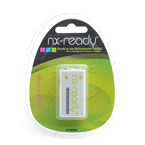 NX - Accus Nimh blister NX READY 9V 200mAh - Blister(s) x 1