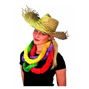 Straw Hawaiian Hat - Pack of 2
