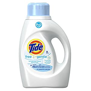 Tide Free and Gentle High Efficiency Unscented Detergent, 50 Ounce