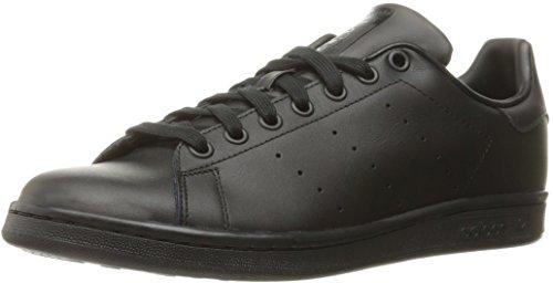 adidas Stan Smith, Scarpe Basse Unisex Adulto, Nero (Black/Black/Black), 44