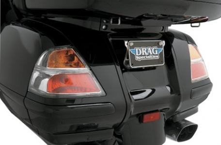 Drag Specialties Wingleader Euro-Style Saddlebag Brake Light/Turn Signal Lenses 45-1812-BX