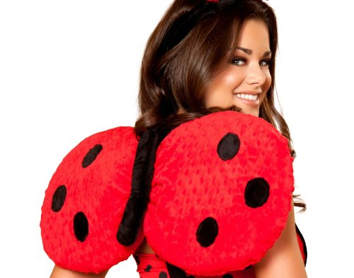 Roma Costume Lady Bug Wings Costume
