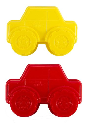 Kellog's Rice Krispies Treats 3D Truck Molds Set of 2 - Yellow & Red