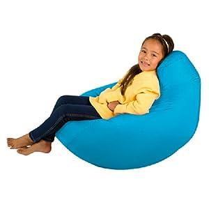 Kids Hi-BagZ® - Kids Bean Bag Gaming Chair - Childrens Beanbag (Water Resistant) AQUA