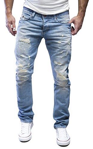 Merish -  Jeans  - Uomo blu chiaro