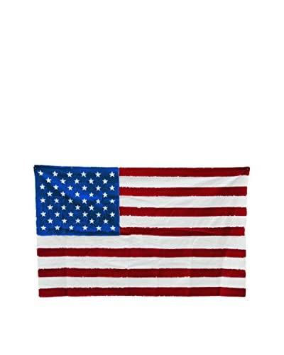 Seletti U.S.A. Cotton Flag, Red/White/Blue