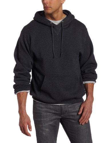 Russell Athletic Men's Dri-Power Fleece Pullover Hood, Black Heather, XXX-Large