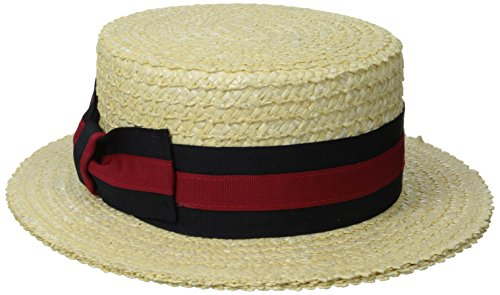 9a02aa64ef2ad Scala Classico Men s Straw Boater