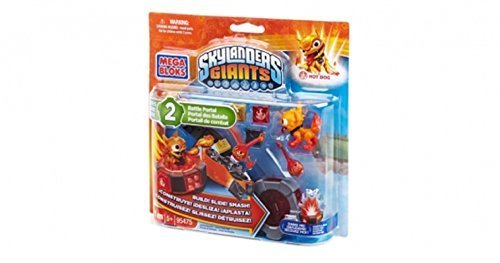 Mega Bloks, Skylanders Giants, Exclusive Molten Hot Dog (95476) - 1