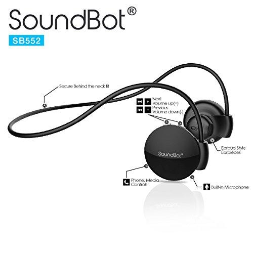 SoundBot SB552 Stereo Bluetooth Headset