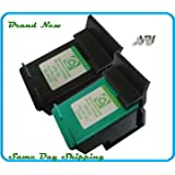 Remanufactured Ink Cartridge Replacement for HP 92 HP 93 (1 Black 1 Color 2 Pack)