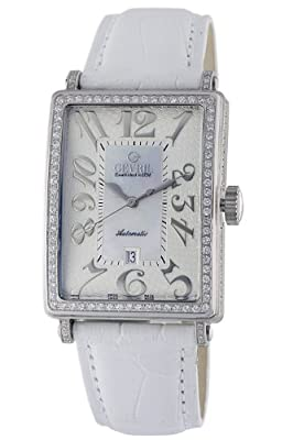 Gevril Women's 6209NV Glamour Automatic White Diamond Watch