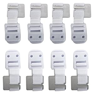 Safety 1st Furniture Wall Straps 8 Pack