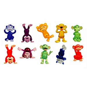 Funny Monkey Figures Party Favors